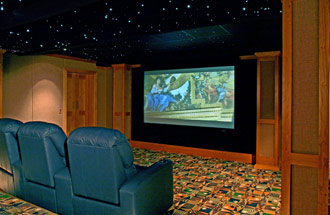 Billiard Rooms & Home Theaters